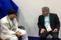 صالحی امیری با رییس فدراسیون جهانی جودو در امارات دیدار کرد