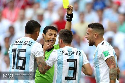 فغانی داور جام جهانی فوتبال - دیدار تیم های فرانسه و آرژانتین