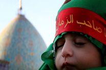 حرم مطهر احمدبن موسی(ع)، میزبان خیل عظیم شیرخوارگان حسینی بود