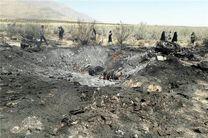 جنگنده سوخو۲۴ ارتش در حوالی شیراز سقوط کرد