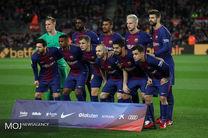 ترکیب احتمالی بارسلونا و لیون از نگاه رسانه ها