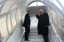 ظریف تهران را به مقصد رم ترک کرد