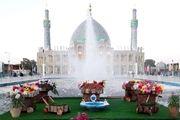 حضور بیش از 100 هزار نفر زائر در امامزاده آقاعلی عباس(ع)