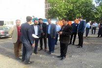 بازدید میدانی شهردار ناحیه از محله ساعی ناحیه 5