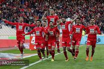 دیدار تیم های فوتبال پرسپولیس و پدیده مشهد