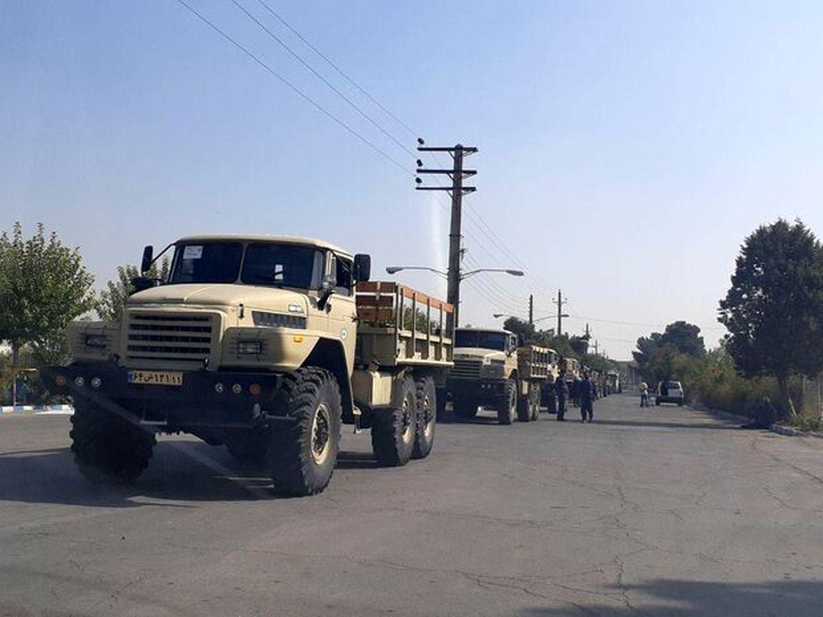 بیش از ۵۰۰ خودروی فوق سنگین تانک بر تاکتیکی به ناوگان تحرک نزاجا ملحق شد