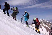 بانوان کوهنوردان آملی به قله 5 هزار متری کازبگ گرجستان صعود میکنند