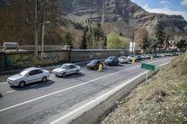 وضعیت ترافیکی کشور اعلام شد