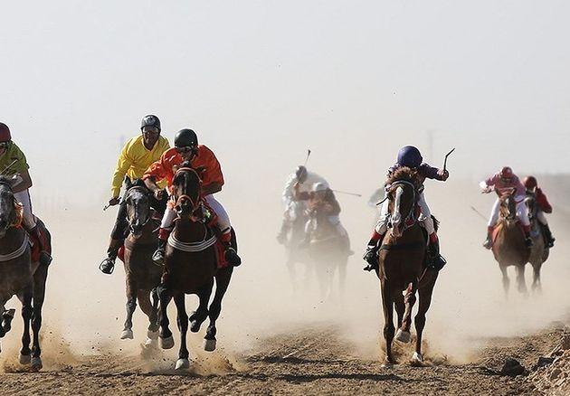 برگزاری هفته پایانی مسابقات اسبدوانی کورس پاییزه کشور در آققلا