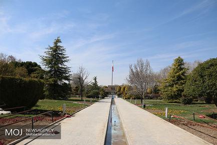 آماده سازی مجموعه باغ گل اصفهان