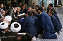 محفل انس با قرآن کریم در حضور مقام معظم رهبری