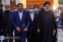 محمد مخبر به عنوان معاون اول رئیس جمهور منصوب شد