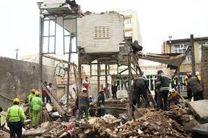 تخریب یک منزل مسکونی در تبریز در اثر انفجار ناشی از نشت گاز