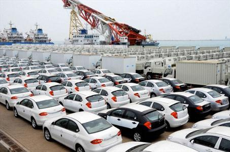 کاهش ۷۳ درصدی واردات خودرو در فروردین ماه 97