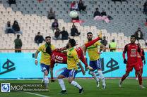 دیدار تیم های فوتبال پرسپولیس و صنعت نفت آبادان - ۵ آذر ۱۳۹۸