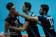 شهرآورد والیبال تهران بین تیم های سایپا و پیکان