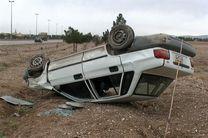 5 مصدوم در اثر واژگونی خودرو  پراید در شهرستان مبارکه