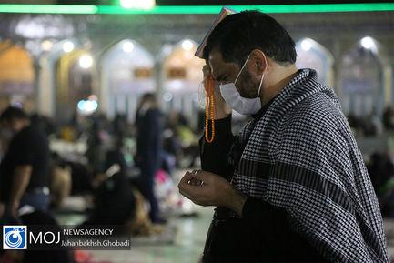 احیای شب بیست و یکم ماه مبارک رمضان در مسجد مقدس جمکران