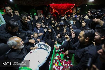وداع با پیکر شهید ابوالفضل کلهر پس از ۳۶ سال
