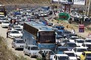 اعمال محدودیت های ترافیکی در چالوس و فیروزکوه