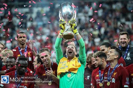 سوپر جام فوتبال اروپا بین لیورپول و چلسی