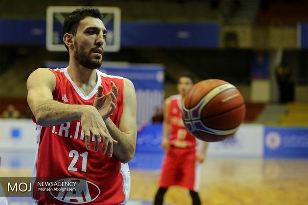 پیروزی تیم ملی بسکتبال ایران مقابل صربستان