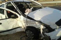 واژگونی خودروی تیبا یک کشته برجا گذاشت