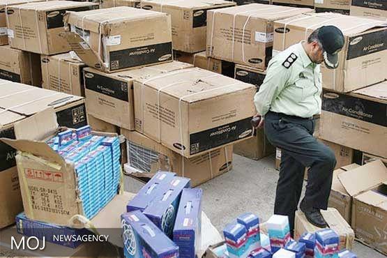 توقیف محموله های قاچاق لوازم خانگی در فارس