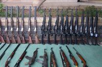 کشف 82 قبضه اسلحه غیرمجاز در خوزستان