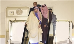 پادشاه سعودی وارد اردن شد