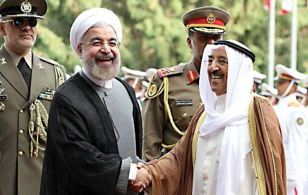 امیر کویت پیروزی حسن روحانی در انتخابات را تبریک گفت