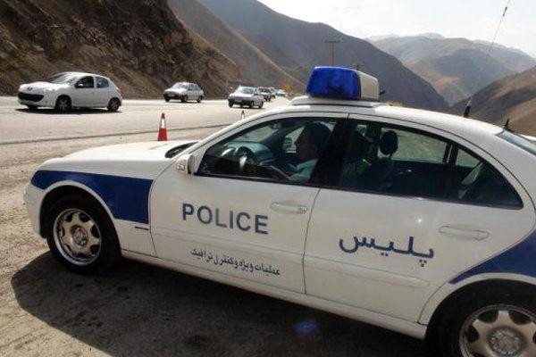 حضور 80 تیم پلیسراه کرمانشاه در محورهای مواصلاتی در تابستان امسال