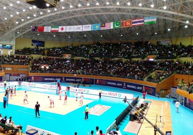 پیروزی قاطع امیدهای والیبال ایران در نخستین دیدار برابر عراق