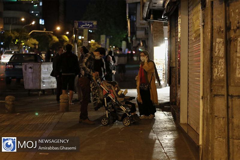 ثبت 34 پس لرزه در تهران پس از زلزله شب گذشته