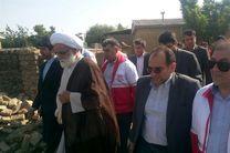 نماینده مقام معظم رهبری از مناطق سیلزده شهرستان کلاله بازدید کرد