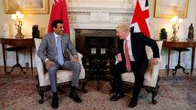 انگلیس و قطر بر تلاش های دیپلماتیک در خاورمیانه توافق کردند
