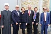 رئیس جمهور آلمان از یک مسجد در این کشور بازدید کرد