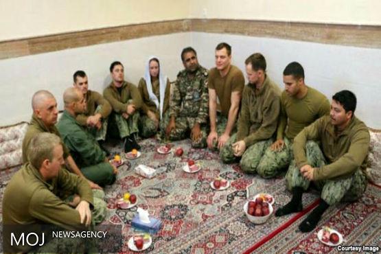 ملوانان بازداشتی آمریکایی در ایران اطلاعات زیادی را فاش کردند
