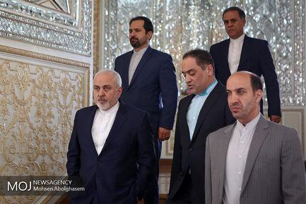 دیدار نماینده ویژه رییس جمهور افغانستان با ظریف