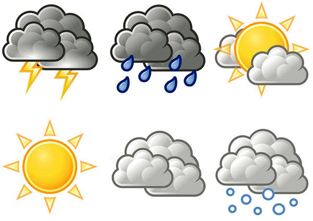 کاهش دمای هوا در بیشتر مناطق کشور