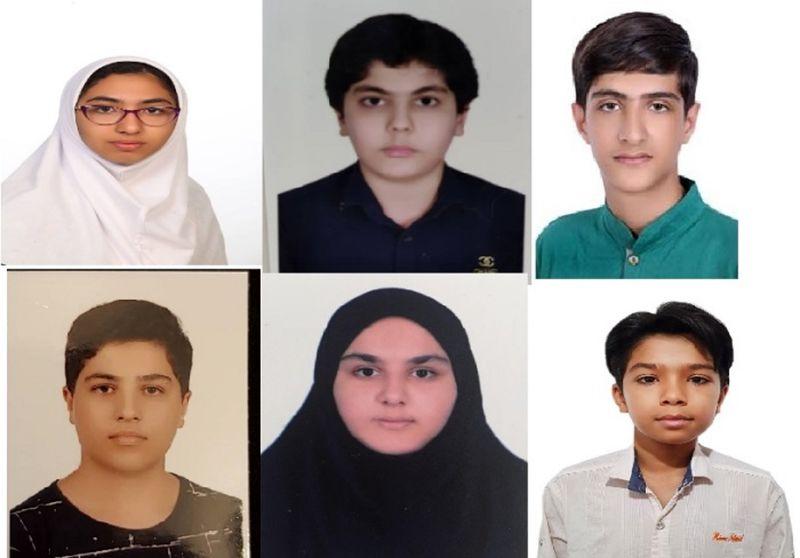 دانش آموزان هرمزگانی 6 مدال المپیاد ریاضی آسیا را از آن خود کردند