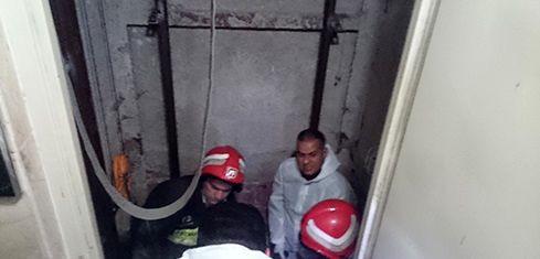 سقوط در چاهک آسانسور مرگ بانوی ۶۰ ساله را رقم زد