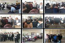 بازدید 110 نفر از دانش آموزان دوره متوسطه از کارگاههای مهارتی