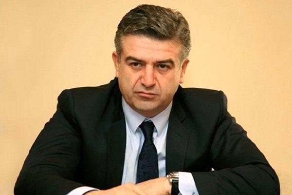 نخستوزیر موقت ارمنستان منصوب شد