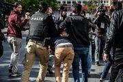 سرکوب تظاهرات روز زن در استانبول