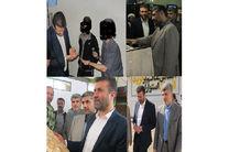 بازدید مدیر کل برنامه ریزی و اشتغال سازمان زندانهای کشور از زندانهای گیلان