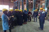 بازدید دبیران آموزش و پرورش بخش فولادشهر از ذوب آهن اصفهان