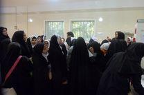 بازدید دانش آموزان از فرایند اهدای خون