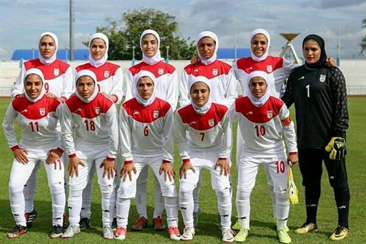 نخستین بازی دوستانه تیم ملی فوتبال بانوان ایران و بلاروس برگزار می شود
