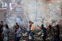 آتشسوزی مهیب در اردوگاه آوارگان سوری در لبنان